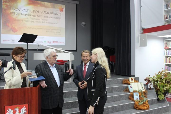 Janusz Koniusz podczas XVII Konkursu Literackiego w Kargowej