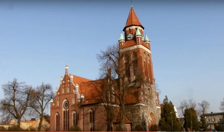 Neogotycki kościół poewangelicki Najśw. Serca Pana Jezusa w Grodzisku Wlkp.