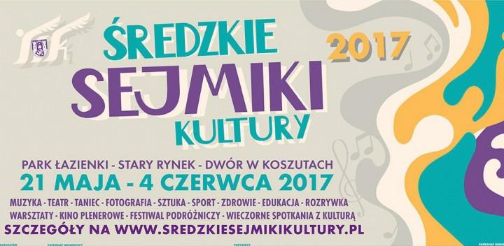 Fragment plakatu Średzkich Sejmików Kultury 2017