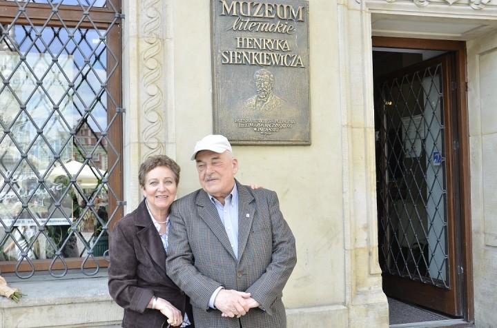 Goście honorowi - Urszula i Juliusz Sienkiewiczowie