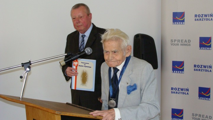 Dr Alojzy Konior odebrał medal Labor Omnia Vincit 8 czerwca 2017 w Lesznie