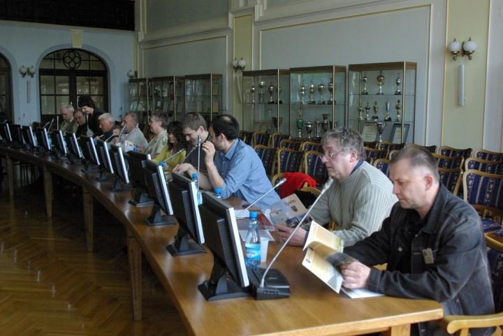 Warasztaty dziennikarskie SPL w Zwardoniu 2009.