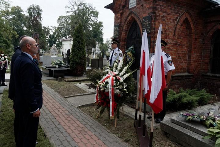 5 na cmentarzu miejskim w Kaliszu 4 sierpnia 2017