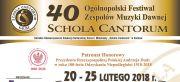 Schola Cantorum po raz czterdziesty
