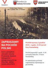 Zapraszamy na Pochód Polski