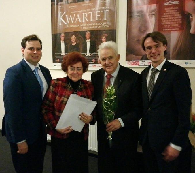 Łukasz Dembski, Bożena Michalska, Andrzej Wituski, Dominik Górny