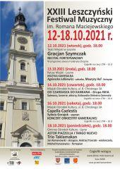 XXIII Leszczyński Festiwal Muzyczny