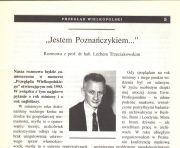 Jestem Poznańczykiem. Lech Trzeciakowski